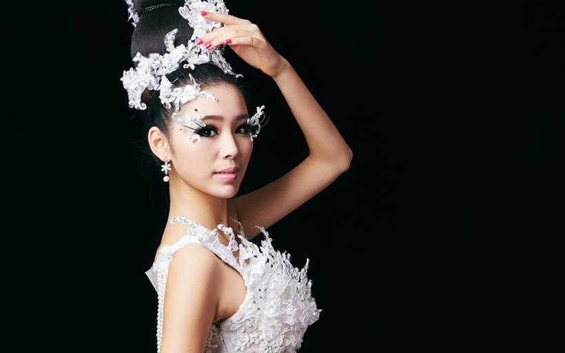 妆造型,时尚t台造型,唐妆造型,时尚新娘造型,主持人妆造型,特殊妆面等图片
