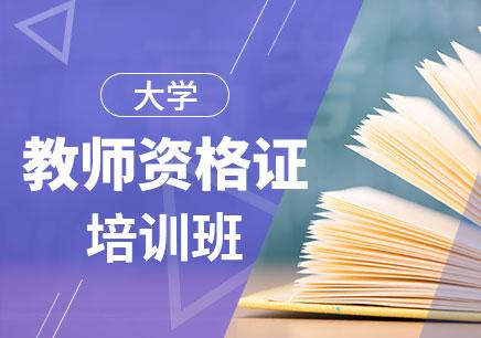 大学教师资格证培训班