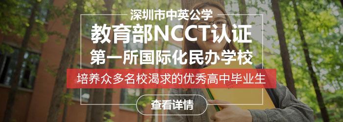 深圳中英公学可以插班吗