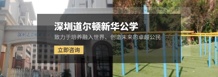 深圳南山道尔顿新华公学探校活动