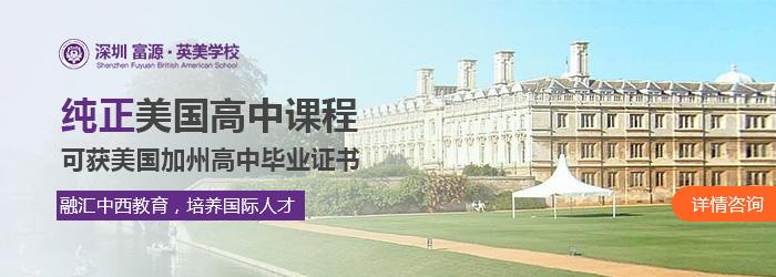 深圳富源英美学校探校活动
