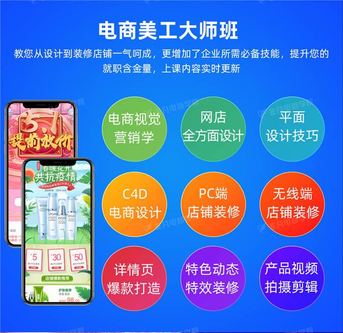 上海电商美工培训