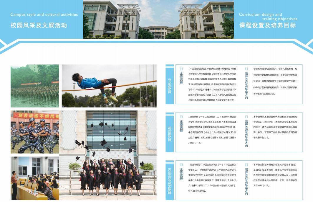 华南师范大学校园风采及文娱活动