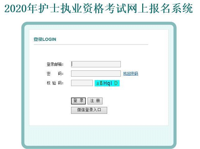 河南省护士职业考试缴费系统入口2020