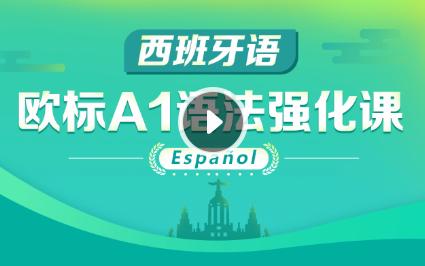 西班牙语A1语法强化