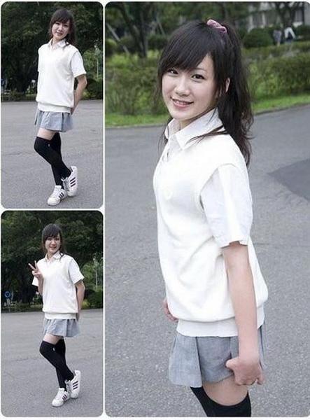 盘点:台湾最美校服女生大比拼